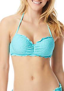 Coco Rave Nadia Ruffle Bandeau Swim Top