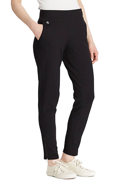 Lauren Ralph Lauren Ashelay Straight Black Pants