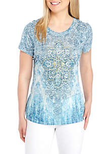 Medallion Graphic Sublimated Tee