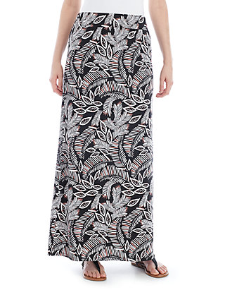 55066e352 New Directions®. New Directions® Pull On Printed Maxi Skirt