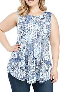 New Directions® Plus Size Essential Sleeveless Tank