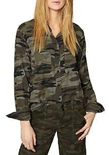 Camo Steady Boyfriend Shirt