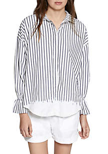 Hazel Yardstripe Boy Shirt