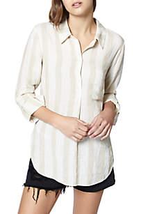 Milo Stripe Linen Tunic