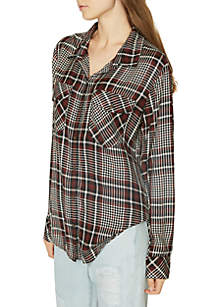Boyfriend For Life Plaid Shirt