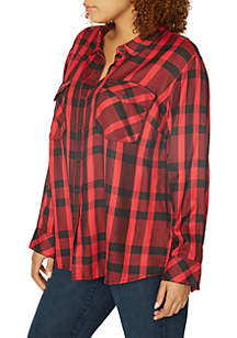 Boyfriend 4 Life Plaid Shirt