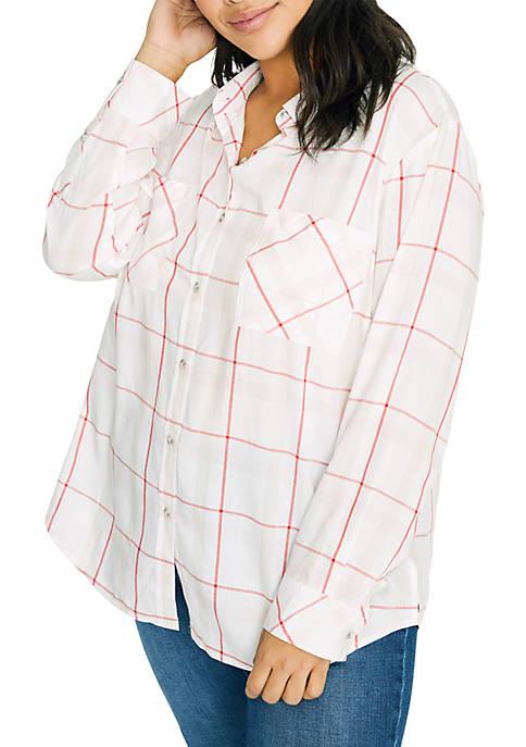 Plus Size Fave Boyfriend Shirt