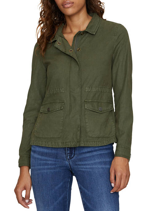 Sanctuary Womens Liberty Military Jacket