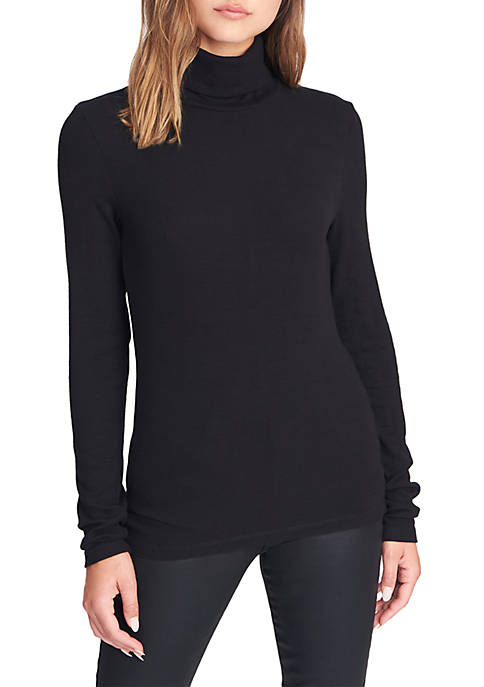 Womens Essential Turtleneck Pullover