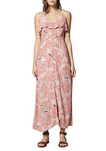Isabella Ruffle Maxi Dress