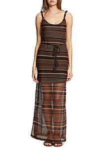Horizon Stripe Maxi Dress