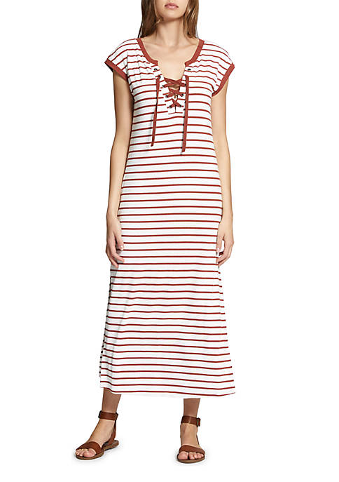 Sanctuary Rivera Stripe Midi Dress