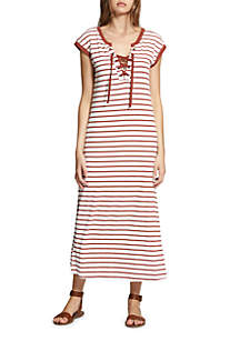 Rivera Stripe Midi Dress
