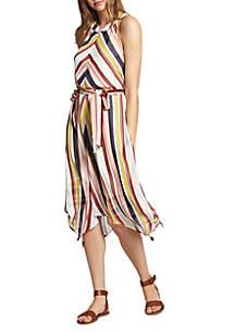 Levels Of the Desert Stripe Dress