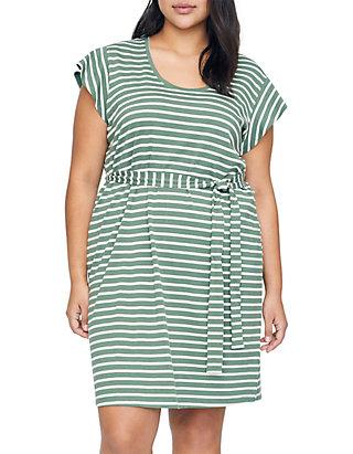 70d0afb4079 Sanctuary Plus Size Ruby Flutter Sleeve T Shirt Dress