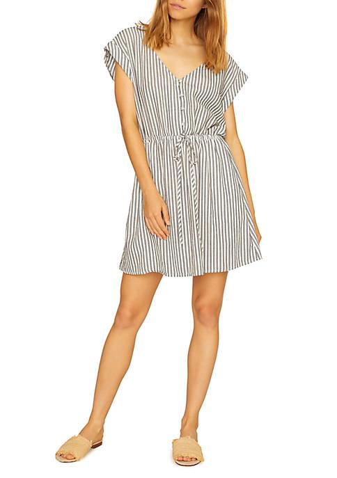 Sun Drenched Soft Shirt Dress