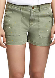 Field Paint Splatter Shorts