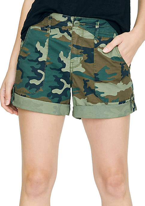 Sanctuary Explorer Camouflage Shorts