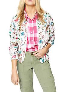 In Bloom Bomber Jacket