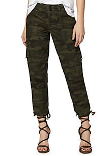 Camo Terrain Crop Pants