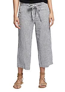 Sasha Stripe Crop Pant