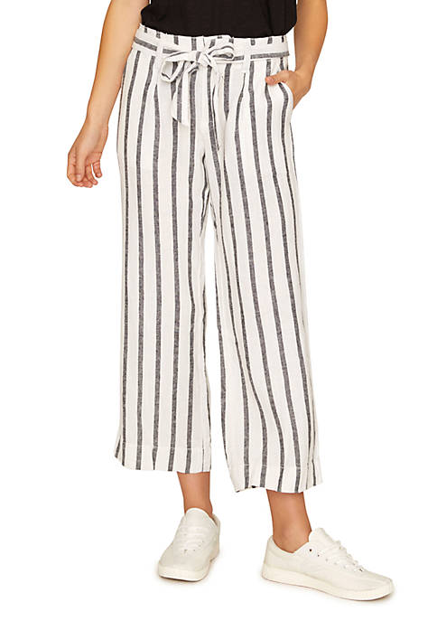 Inland Sashed Cropped Pants