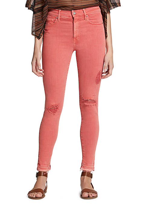Sanctuary Robbie High Waist Ankle Jeans