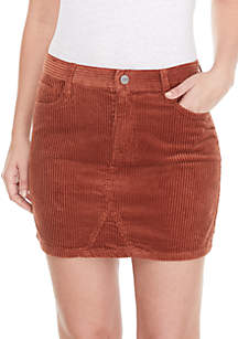 Ryan Corduroy Mini Skirt