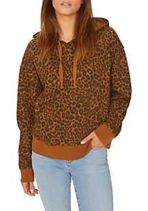 Venice Leopard Print Hoodie