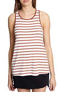 Capri's Stripe Twist Tank