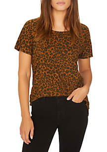 Beacon Short Sleeve Leopard Tee