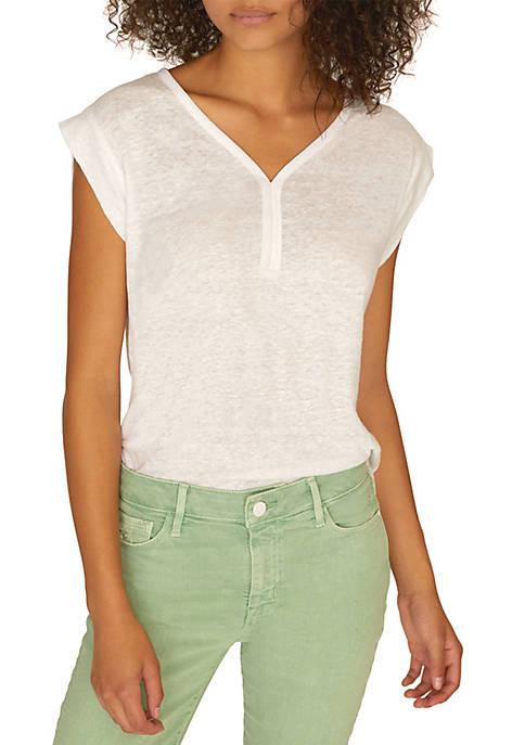 Laura V Neck T Shirt