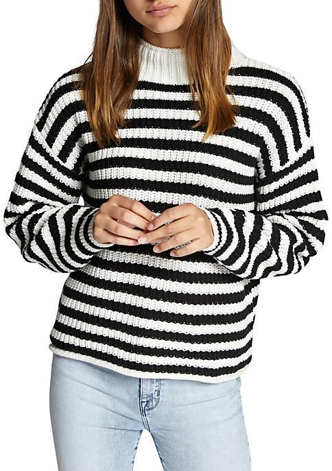 Idris Mock Neck Sweater