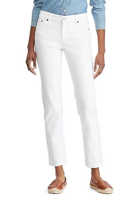 Lauren Ralph Lauren Slimming Straight Jeans