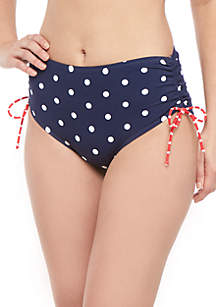 Kim Rogers® Classic Mix Side Tie Swim Bottoms