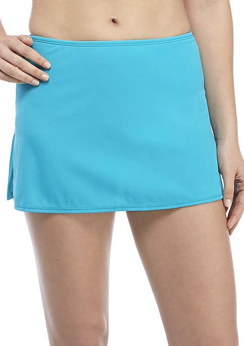 Kim Rogers® Side Slit Swim Skirt