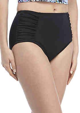 5506b63e3f Kim Rogers® Full Coverage Side Shirred Swim Bottoms ...