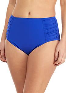 Kim Rogers® Full Coverage Side Shirred Swim Bottoms
