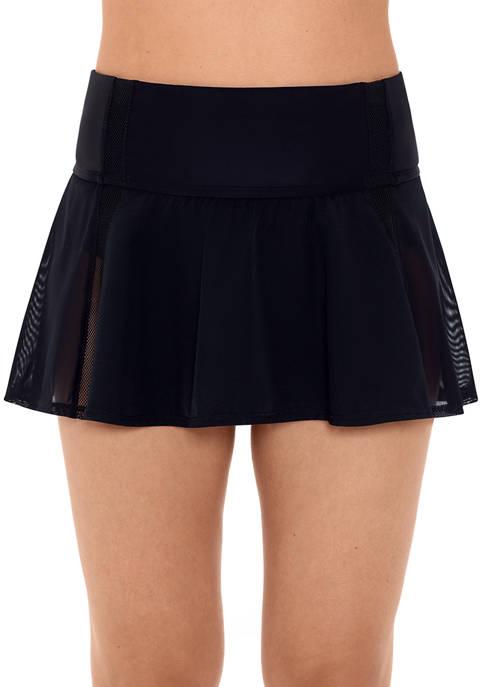 Solid Mesh Skirt