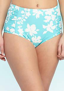 High Waist Swim Bikini Bottom