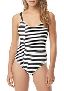 MICHAEL Michael Kors Strappy One Piece Swimsuit