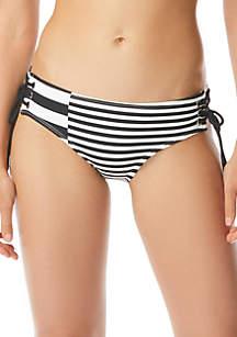 MICHAEL Michael Kors Lace-Up Bikini Swim Bottoms