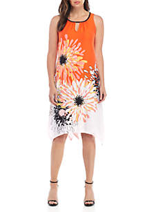 New Directions® Sleeveless Cutout Midi Dress