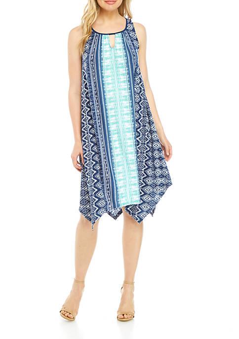 Sleeveless Cutout Midi Dress
