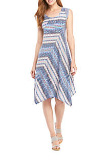 New Directions® Sleeveless Swing Dress