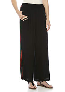 Palazzo Pants With Side Tape