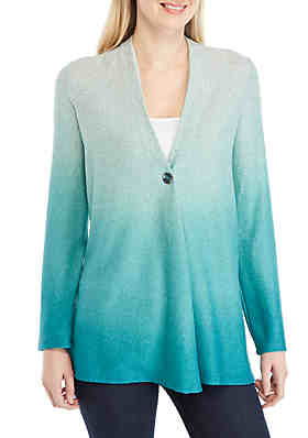 e4a0156437 New Directions® Ombre Hacci Cardigan ...