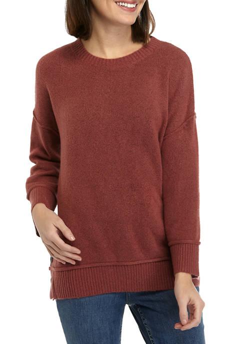 Womens Button Sweater