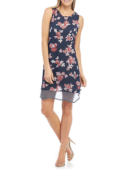 New Directions® Petite Size Mixed Print Double Layer