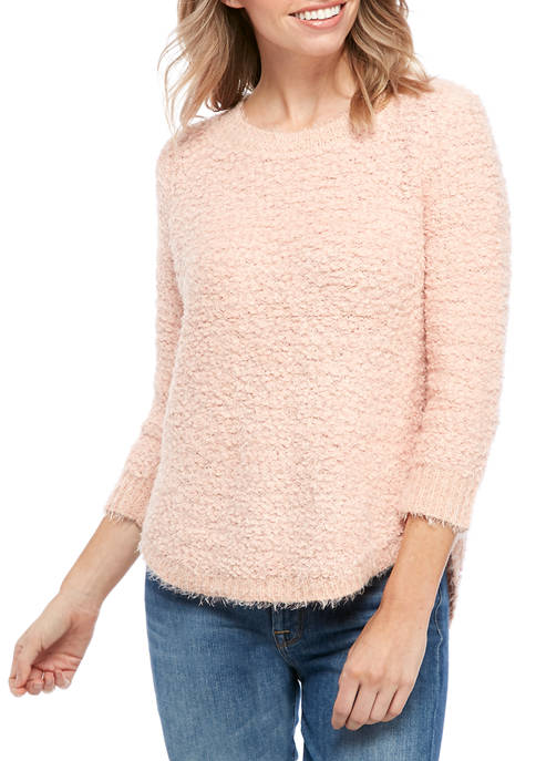 New Directions® Petite Chenille Pullover Sweater